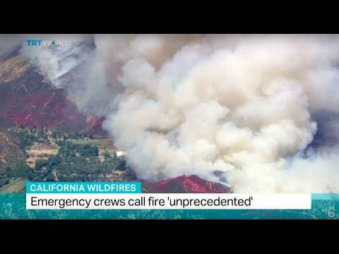 California Wildfires: Emergency crews call fire unprecedented , Patrice Howard reports