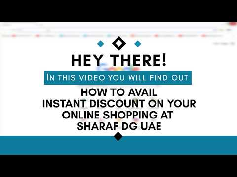 Sharaf DG UAE Coupon Code for online shoppers in UAE