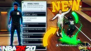 These New Dribble Moves Turned Me Into A God, Best New Sizeup After Patch 12 in NBA 2K20