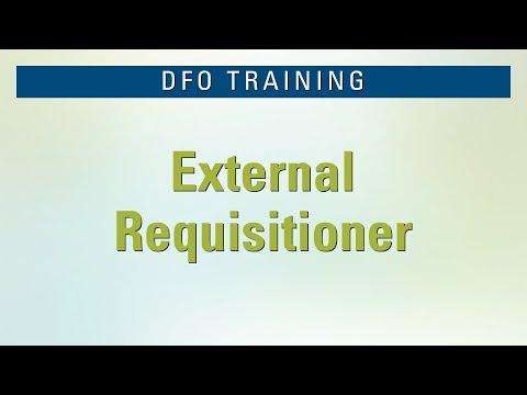 DFO External Requisitioner