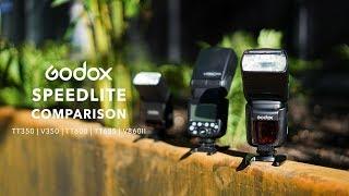 Godox Speedlite Flash Comparison - What flash should you choose?