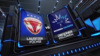 DEL2 Highlights 34. Spieltag | Lausitzer Füchse vs. Dresdner Eislöwen