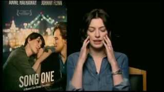 "Anne Hathaway Explains Relationship in ""Song One"""