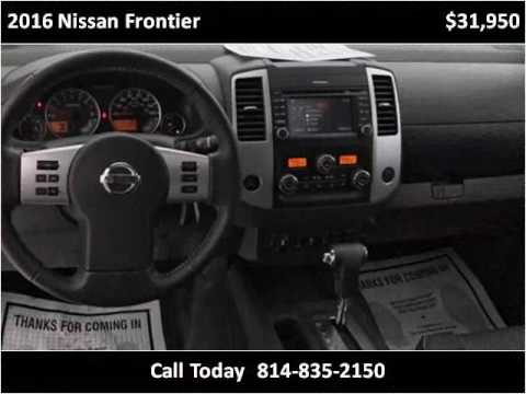 2016 nissan frontier used cars erie pa youtube. Black Bedroom Furniture Sets. Home Design Ideas