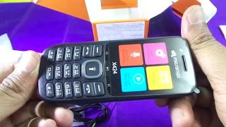 micromax x 424 unboxing and first look