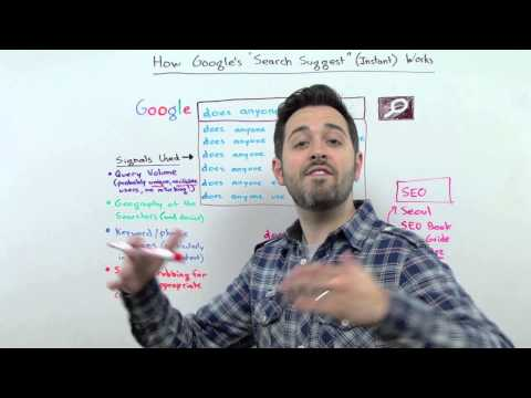 "How Google's ""Search Suggest"" (Instant) Works - Whiteboard Friday"