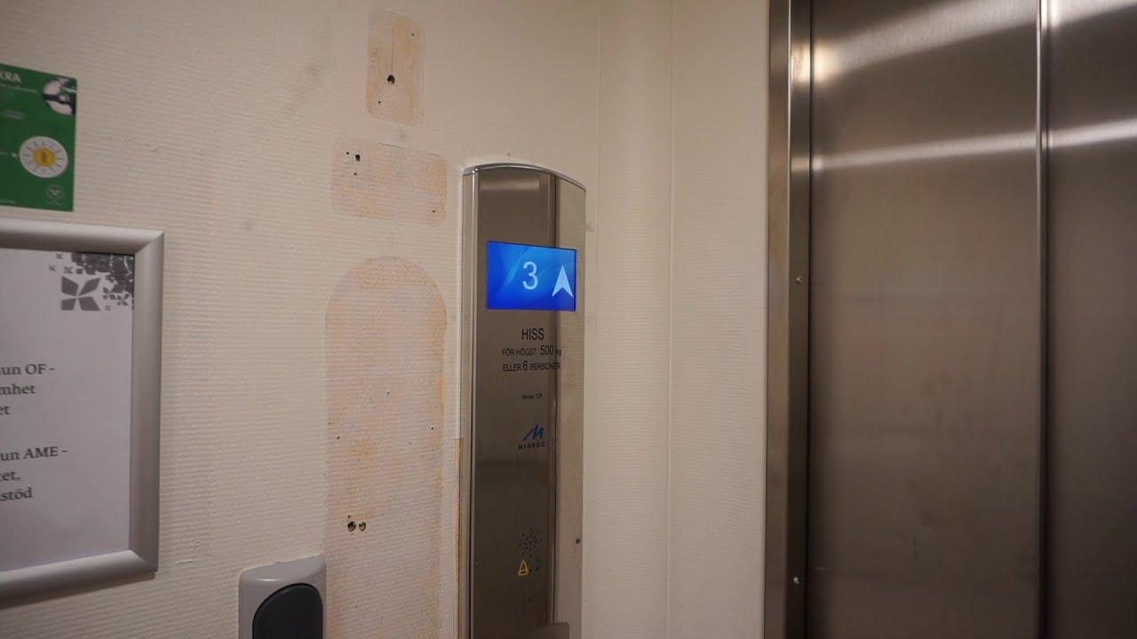 July 2020 Update!!! ASEA Graham (mod.) Traction Elevator @ Heden 128, Bollnäs, Sweden.