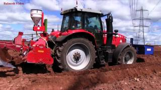 Planting Potatoes with Tractors Galore!