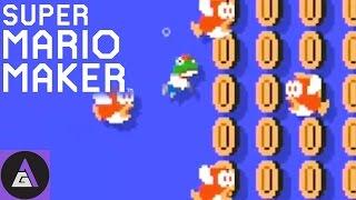 WE BROKE THE GAME |  Super Mario Maker Gameplay