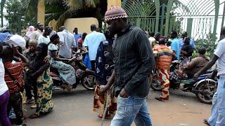 Mali: les personnes handicapées en sit-in devant la Primature