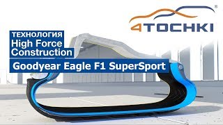 Goodyear Eagle F1 SuperSport - технология High Force Construction