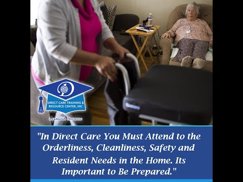 A VIDEO INTRODUCTION TO MICHIGAN DIRECT CARE WORKER TRAINING SECTION 1