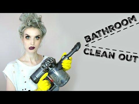 Deep Clean My Bathroom With Me