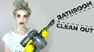 Deep Clean My Bathroom With Me