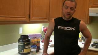P90x Nutrition - Vanilla Berry Protein Smoothie - Asylum