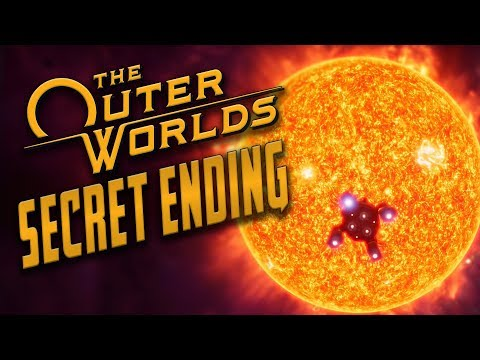 The Outer Worlds - SECRET ENDING // Flying Hope Directly Into the Sun (Dumb Dialogue)