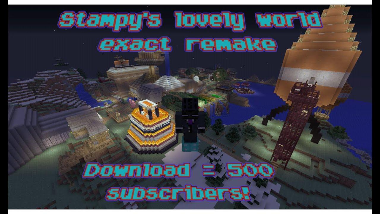 Stampys lovely world exact remake 500 subscribersdownload youtube stampys lovely world exact remake 500 subscribersdownload gumiabroncs Choice Image