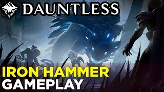 DAUNTLESS Iron Hammer Gameplay: Hunting the Pangar
