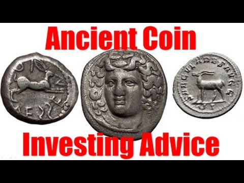 Investing Advice from Rare Coin Expert About Investment in Ancient Greek and Roman Numismatic Coins