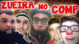 ZUEIRA NO COMPETITIVO COM YOUTUBERS DE CS:GO (PT-BR)