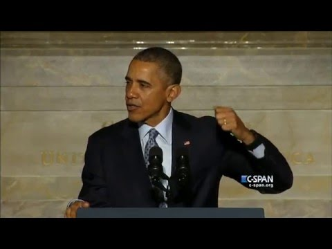 President Obama on Immigration at Naturalization Ceremony – FULL VIDEO (C-SPAN)
