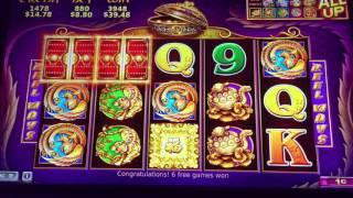 5 Treasures Video Slot Machine Bonus $8.80 max bet
