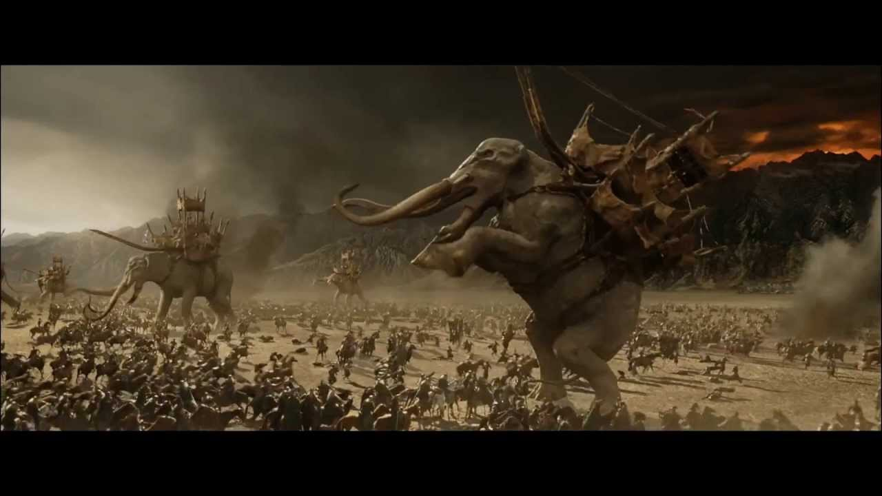 Lord Of The Rings Elephant Gif