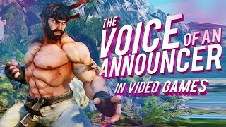 The VOICE of Announcers that Redefined the Fighting Video Game Genre