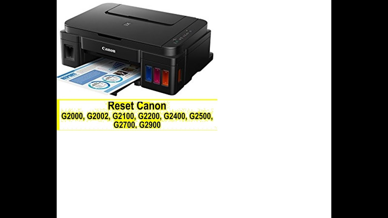 CANON G2000 G3000 G4000 EPSON L380 L3150 L3110 RESET SERVICE REQUIRED  SOLUTION