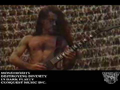"Monstrosity - ""Destroying Divinity"" HQ"