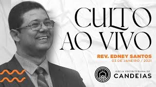 Culto Ao Vivo | 03 de janeiro de 2021  - 17h