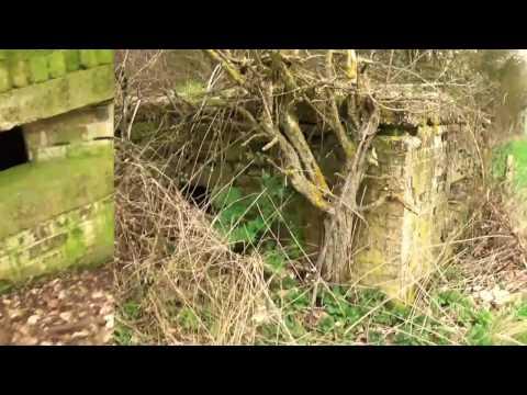 Abandoned WW2 Type FW3/26 Pillbox Defence Near Harwell Oxfordshire