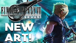 NEW FINAL FANTASY VII REMAKE ART and FREE GAME FOR EU PLAYSTATION PLUS