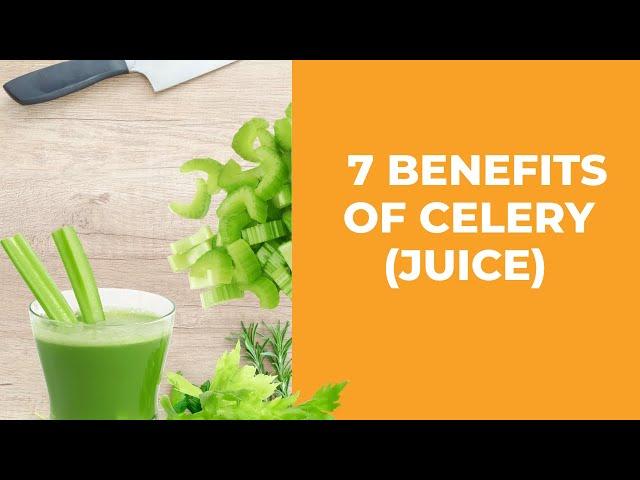Power of Celery - 7 Benefits of Celery (Juice)