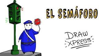 EL ORIGEN DEL SEMÁFORO 🚦 | Draw My Life