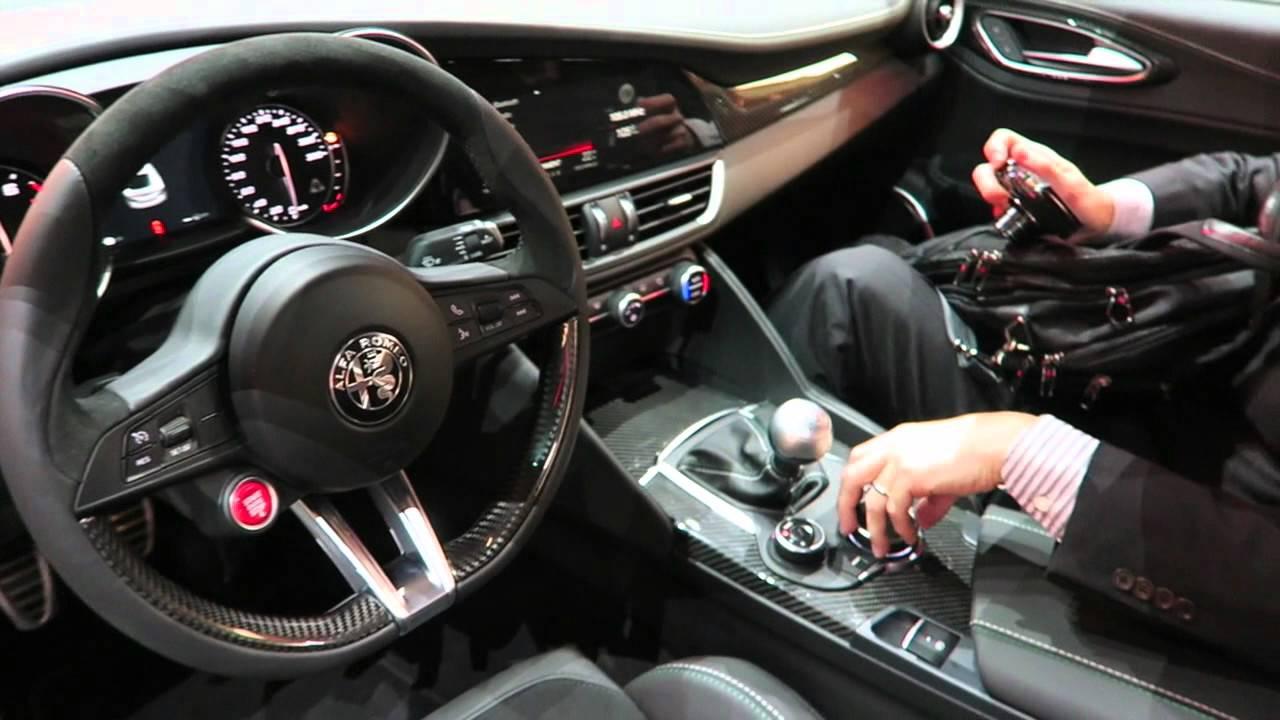 Alfa Romeo Giulia Qv Exterior Interior Walkaround Francfort 2015 Lba Vids Youtube