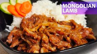Mongolian Lamb Recipe - Quick & Easy - Food Treasure