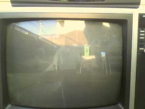 Problems with the 1980's Sharp Linytron CRT TV