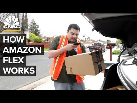 What It's Like To Be An Amazon Flex Delivery Driver - YouTube