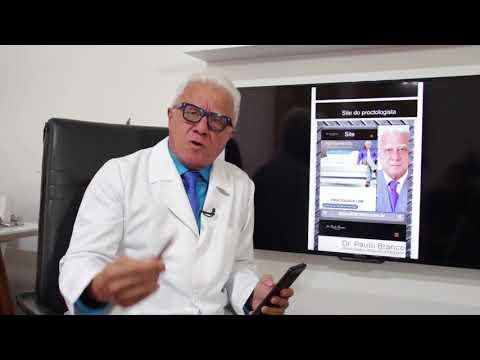 Proctologista on-line comemora 200 vídeos educativos no seu canal no youtube.