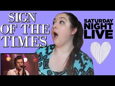 Thumbnail: Sign Of The Times - Harry Styles Live on Saturday Night Live - Reaction!
