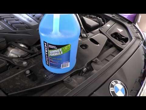How To Add Windshield Wiper Fluid 2014 BMW 550i