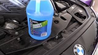 BMW X5 E53 4.4L 2005 YEAR WASHER FLUID LOW CHECK SIGNAL FIX