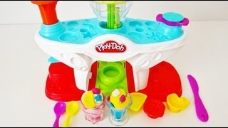 Play-Doh Swirling Shake Shoppe Unboxing & Demo