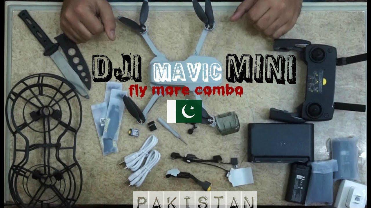Unboxing DJI Mavic Mini More Combo | 1st time in Pakistan ...