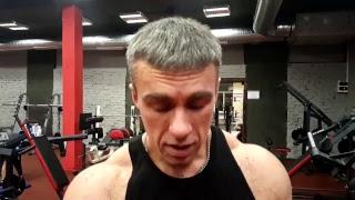 Моя тренировка мышц груди и спины. Из остатков сил после открытия новой зоны зала 26.12.17