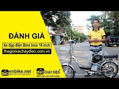 Đánh giá xe đạp điện Bmx Inox 18 inch