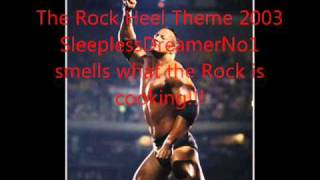 The Rock Heel Theme
