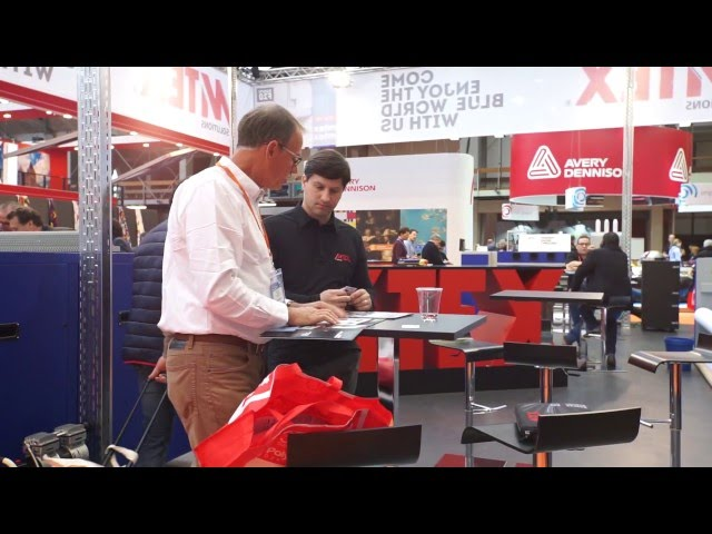 MTEX booth at FESPA Amsterdam 2016