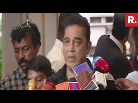 Kamal Haasan Talks About Entering Politics, Says Won't Enter BJP